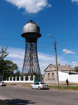 Water tower in the city of Nikolaev, Ukraine | Photo: Vladimir Shukhov