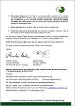 Письмо ICOMOS Президенту РФ Владимиру Путину. Page 03