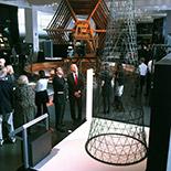 Пятиметровая металлическая модель Шуховской телебашни