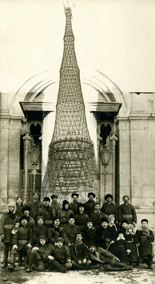 Shkhov Tower Memorable photocollage. March 1922