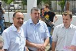 Василий Тельпис (слева) рассказал, что башня стала «фишкой» водоканала