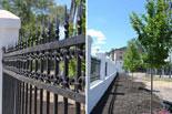 Усилиями водоканала был реконструирован забор, построенный одновременно сбашней в1906 году